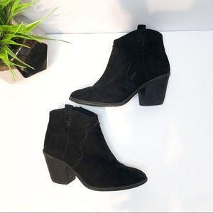 Time & Tru Mid-Calf Booties black size 8.5